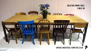Industrial Look Dining Table