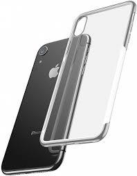 <b>Чехол Baseus Shining</b> (ARAPIPH61-MD0S) для iPhone XR (Silver ...