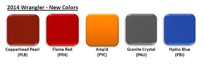 2014 Confirmed Color Discussion Page 15 Jeep Wrangler Forum
