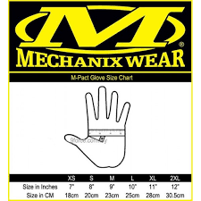 Mechanix Wear Glove Size Chart Mechanix Glove Size In Inches Images Gloves And