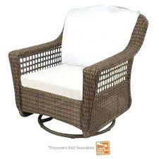 grey patio chairs spring haven grey wicker outdoor patio swivel rocker chair with cushions included choose grey patio chairs cliff grey wicker