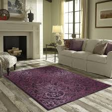 charlton home landen purple area rug reviews wayfair with regard to living room rugs design 1