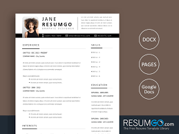 Modern Resume Template Google Docs Yorgos Yet Another Modern Resume Template Resumgo Com
