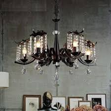 hanging lighting fixtures for home. American Wind Industry Droplight LED Vintage Pendant Light Fixtures Home Dining Room Crystal Hanging Lamp Indoor Lighting For I