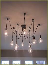 elegant light bulb chandelier modern best 25 edison bulb chandelier ideas on light for