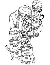 Small Picture 14 despicable me coloring pages for kids Print Color Craft