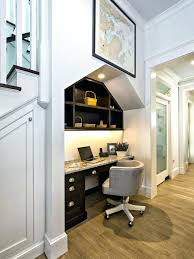 under stairs furniture. Contemporary Office Decor Brilliant Under The Stairs Furniture And Bathroom Ideas Decorating
