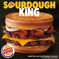 burger king restaurants introduce new sourdough king and asks america is it a burger or a sandwich business wire