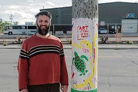 Spots of colour in Point Douglas - Winnipeg Free Press