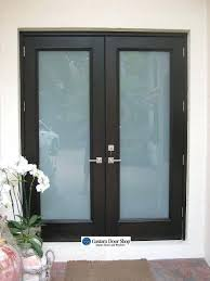 front door frosted glass panels panel replacement cost