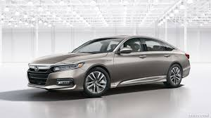 2018 honda wallpaper. exellent honda 2018 honda accord hybrid  front threequarter wallpaper to honda wallpaper