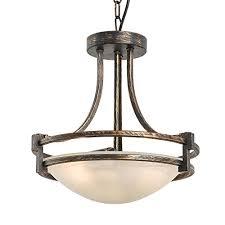 Inverted bowl pendant lighting Lighting Ideas N3 Lighting 2light 13 Torino Inverted Bowl Pendant Light Chandeliers Indoor Flush Amazoncom Amazoncom N3 Lighting 2light 13 Torino Inverted Bowl Pendant