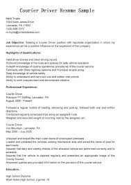 Objective For Truck Driver Resume Truck Drivers Resume Driver Resume Format Doc Unique Driver 58