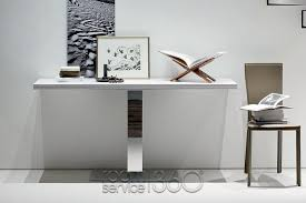 contemporary modern white lacquer console table in interior designs decoration kids room decorating ideas modern white lacquer console table kids room