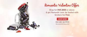 valentine special offer