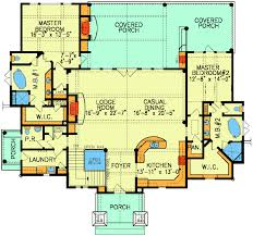Dual Master Suites  15800GE  Architectural Designs  House PlansDual Master Suite Home Plans