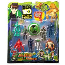 All ben 10 alien force toys