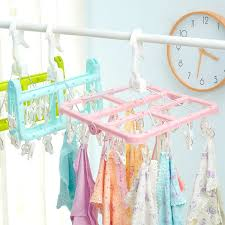 Baby Coat Rack USD 1001006] Home Multiclip Hanger Home Underwear Socks Clothes Hanger 42