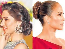 Easy To Do Hairstyles 51 Best Easytodo Glam Updos For The Bride Fashion And Trends Hindustan