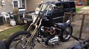 74 harley ironhead sportster xlch rigid springer chopper youtube