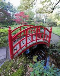 backyard gardens. Although Chinese Red Bridges Are, As The Name Implies, In Origin, They Backyard Gardens