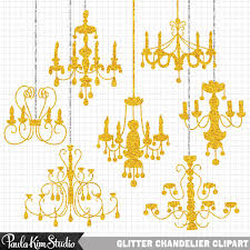 chandelier clipart gold chandelier 3