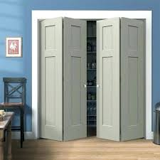 folding door ideas best interior doors on closet craftsman white painted smooth molded composite bi fold