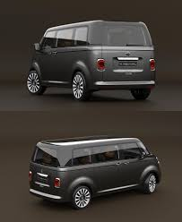 2016 Volkswagen T6 Vintage Concept > inspired by the 1950 VW T1 ...