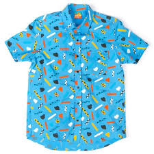 Mokuyobi Size Chart Pop Play Button Up Shirt Clothes In 2019 Vibrant Colors
