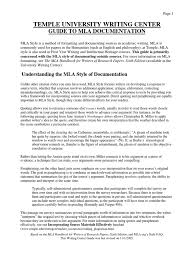 Mla Style Citation Guide Plagiarism Citation