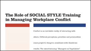 crucial conversations summary social style managing conflict tracom group