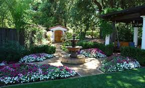 Small Picture Stunning Mediterranean Garden Designs