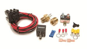 painless performance fan thom ii electric fan relay kits 30102 free on orders over 99 at summit racing