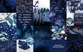 Blue Aesthetic Laptop Wallpapers Top ...