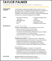 Audio Resume Resume Examples For The Top 5 Gen Z Jobs Livecareer