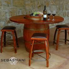 furniture made from wine barrels. Wine Barrel Table Set W/4 Stools Furniture Made From Barrels