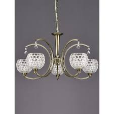franklite omni bronze 5 light ceiling fitting fl2340 5