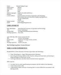 Electronic Engineering Resume Sample Mulhereskirstin Info