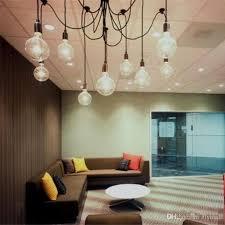 edison chandelier classic vintage pendant lamp 10 light sockets living room chandelier light dining room ceiling