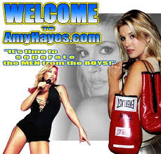 Amy Hayes - Pro Boxing Ring Announcer - Spokesperson