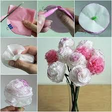 diy beautiful tissue paper flowers