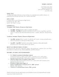 Objective For Graduate School Resume Resume Objective For Students