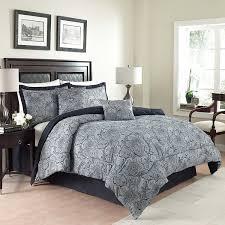 duvet cover dark blue paisley bedding grey set snuggle down