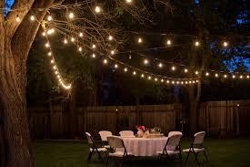 image gallery outdoor dinner party lighting