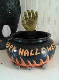 halloween candy bowl hand. Modren Candy GEMMY Halloween Animated TALKING Moving WITCH HAND Candy Bowl RARE On Hand