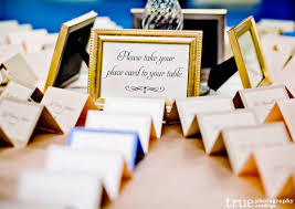 Place Card Holder For Wedding Reception