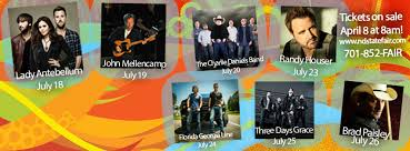Nd State Fair Announces Grandstand Line Up Word On The