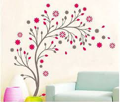 Small Picture Wall decals red flowers Color the walls of your house
