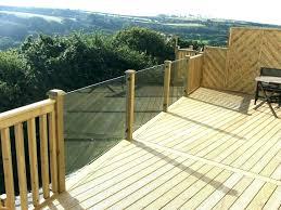 plexiglass deck railing deck railing railing stairs decking glass deck for classy material ideas balcony railings systems stair clear plexiglass deck