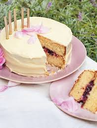 Blackberry Lavender Rose And White Chocolate Cake Recipe From The